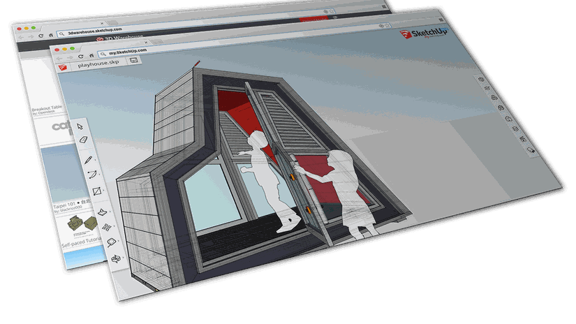 my.SketchUp: SketchUp direttamente nel tuo browser