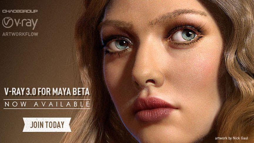 V-RAY 3.0 Beta per Maya