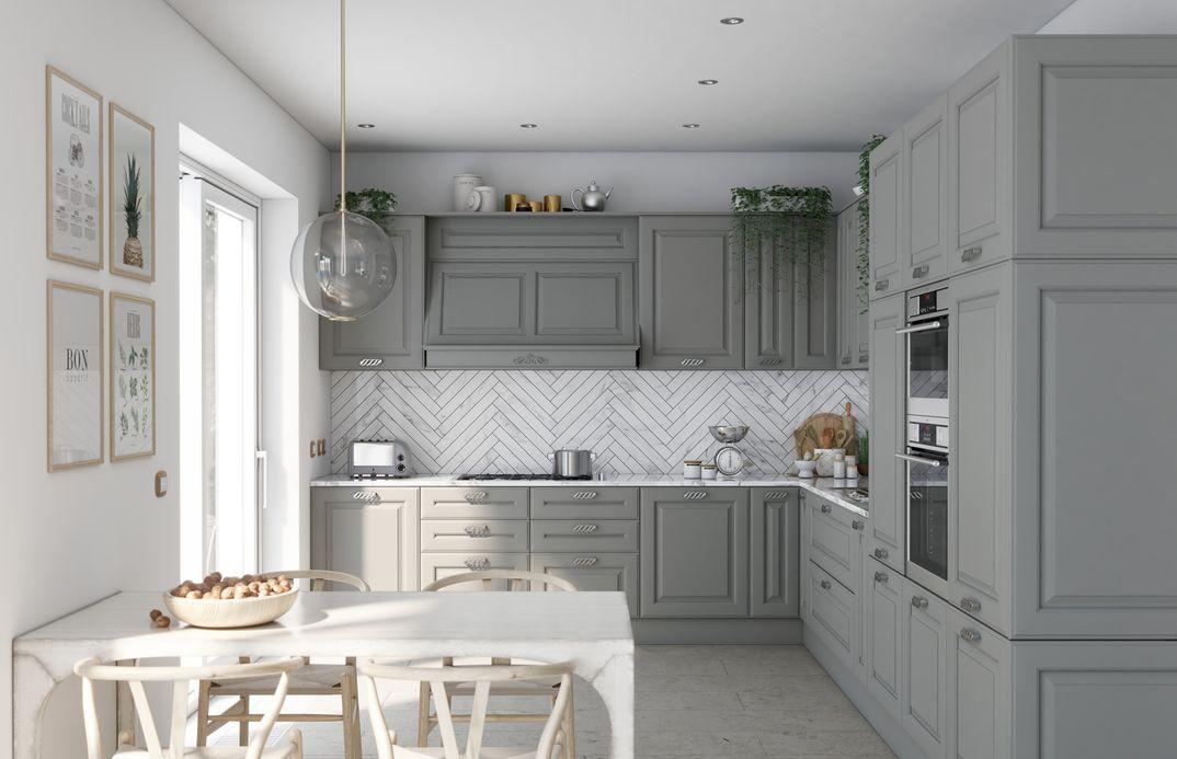 Cucina classica in ambiente contemporaneo - Luca Valentini