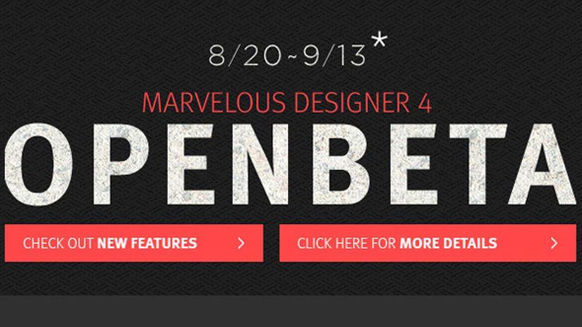 Marvelous Designer 4 - Open Beta