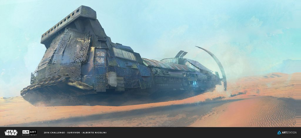 Tatooine's cargo ship