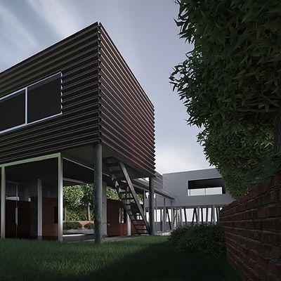 Rem Koolhaas - Villa Dall'Ava RENDERING