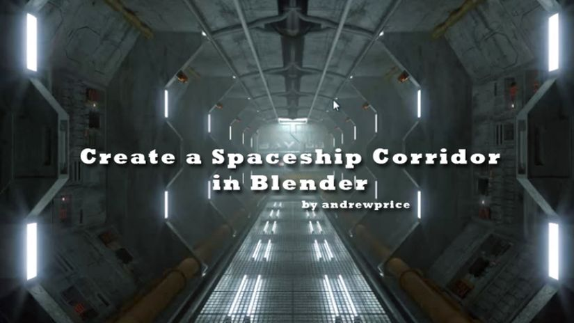 Create a Spaceship Corridor