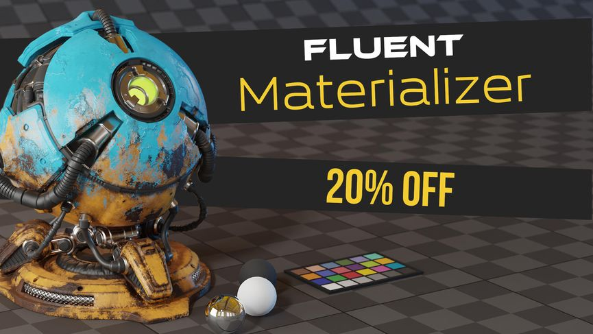 Fluent Materializer: creare texture procedurali per Blender