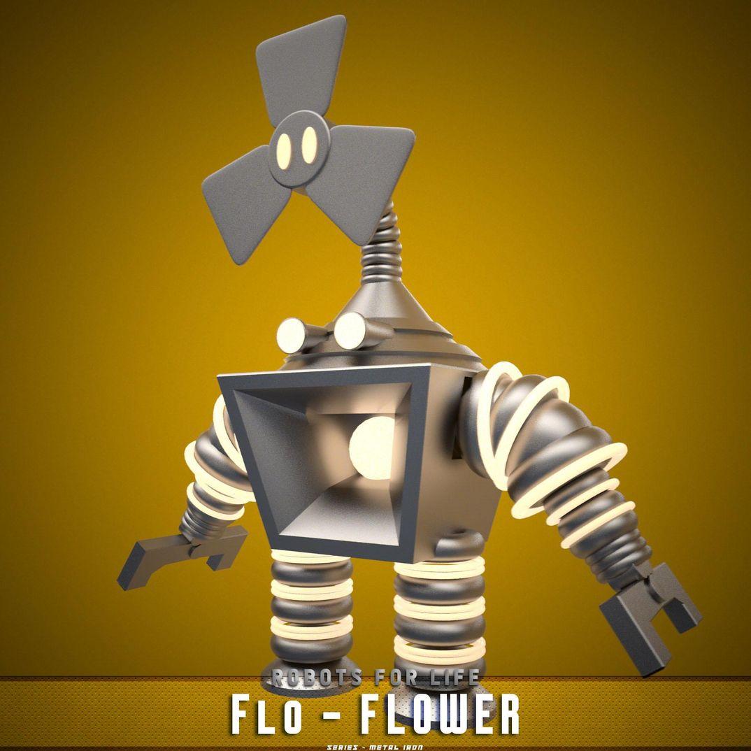 Robots for LIFE...Flo-Flower