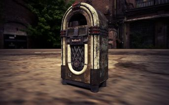 Jukebox Wurlitzer Substance Painter