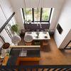 Kitchen in duplex appartment