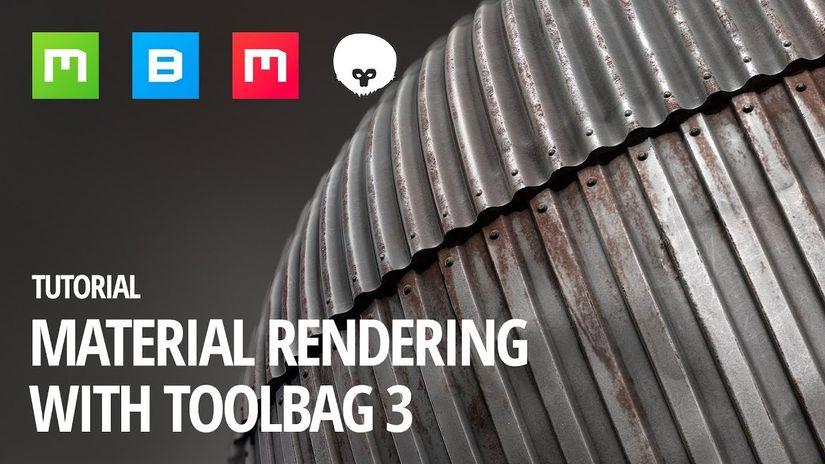 Quixel Mixer: Rendering dei materiali con Toolbag 3