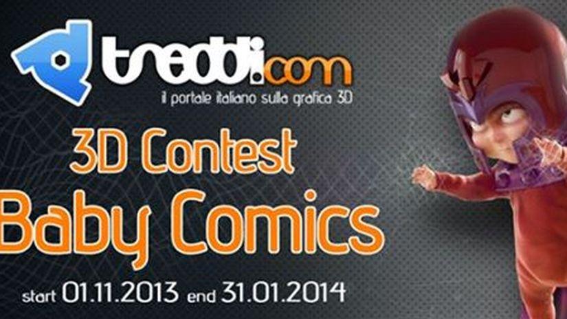Ecco la gallery del Baby Comics Contest