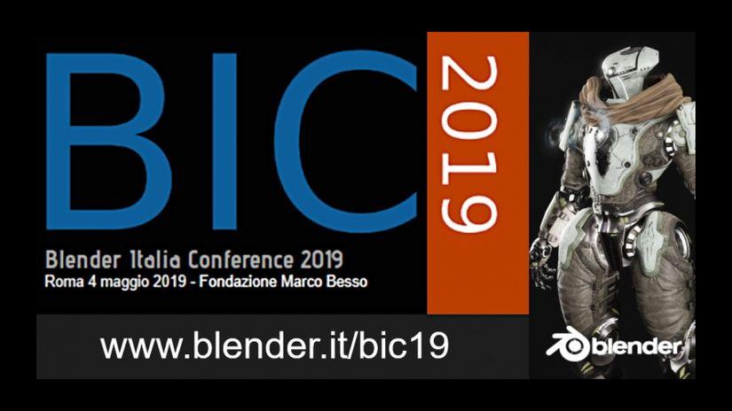 Blender Italia Conference 2019