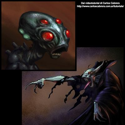 Vampiro e alieno