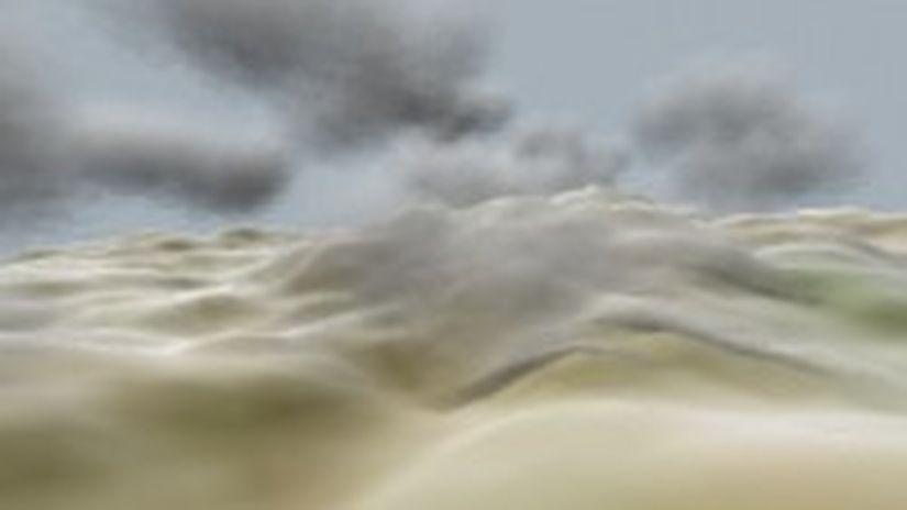 Nuvole Stratificate In 3d Studio Max