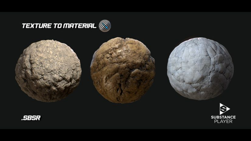 Texture to Material generator