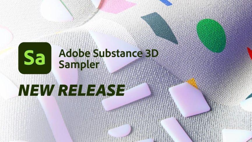 Adobe rilascia Substance 3D Sampler 3.1