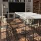 Sala da pranzo in stile industriale