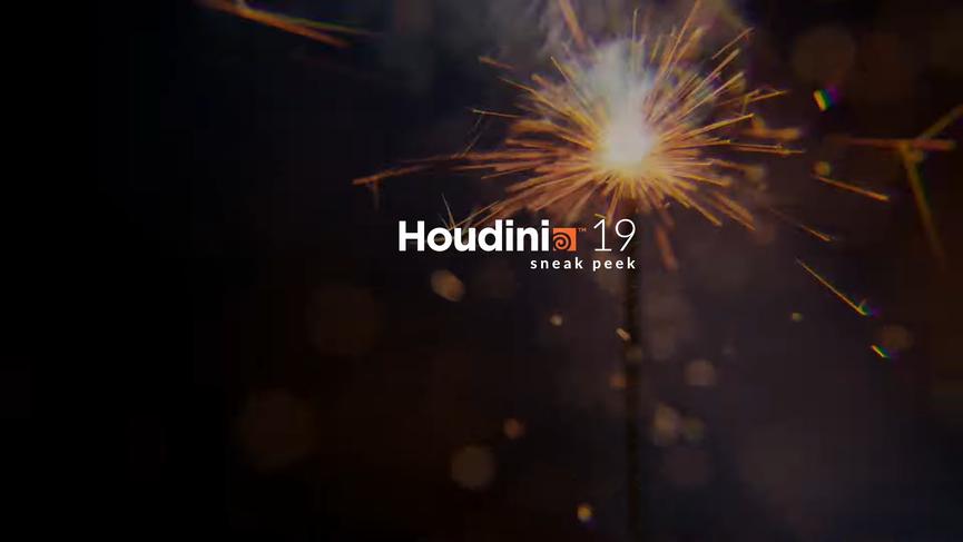 Houdini 19 Sneak Peek