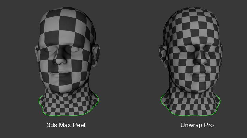 Marius Silaghi rilascia Unwrap Pro per 3ds Max
