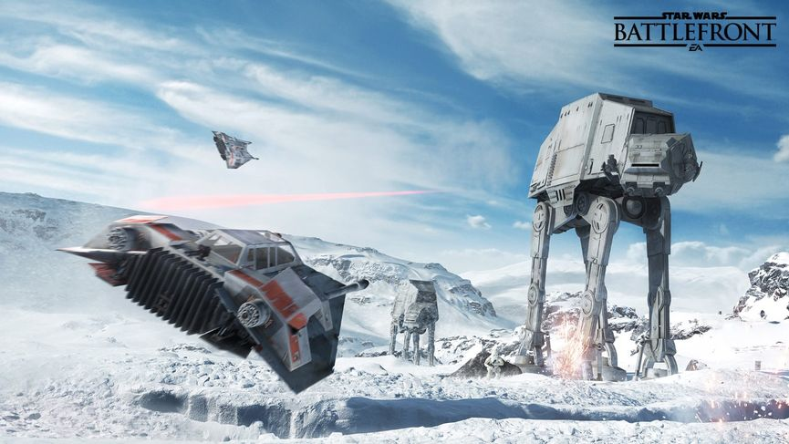 Star Wars Battlefront gameplay