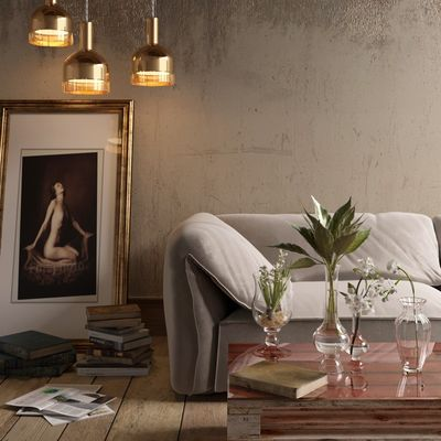Interior Sofa'
