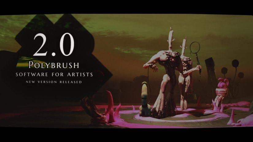 Polybrush 2.0: lo sculpting 3D a basso costo