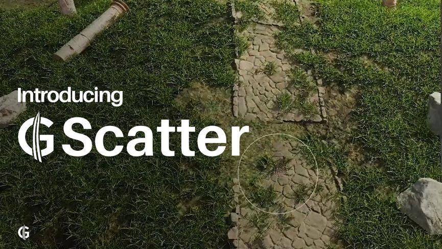 G Scatter per Blender - Free Addon