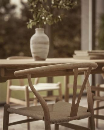 Archviz Wishbone chair render Unreal Engine 4.23 raytrace