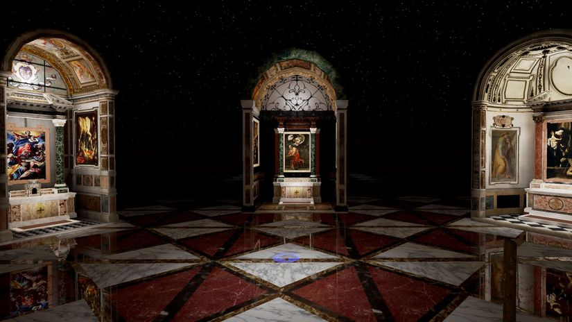 Caravaggio VR Experience. La grande arte in Realtà Virtuale.