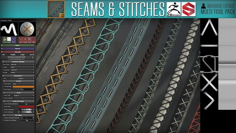 Stitches & Seams