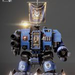 Warhammer 40k - Ultramarine Dreadnought