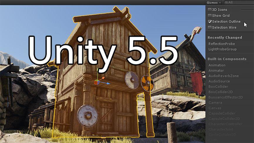 Unity Technologies rilascia Unity 5.5
