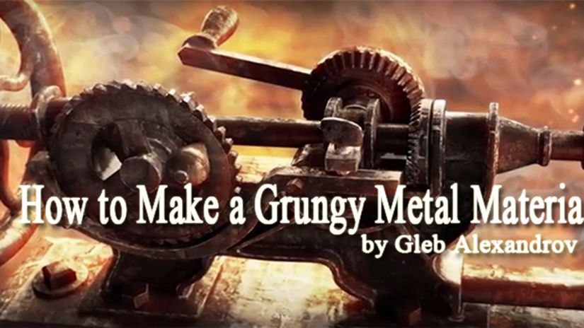How to Make a Grungy Metal Material