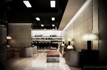 Armani Style Luxurious Cigar Lounge