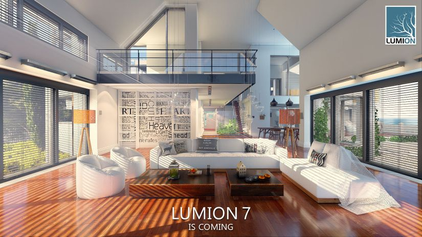 Lumion 7 in arrivo