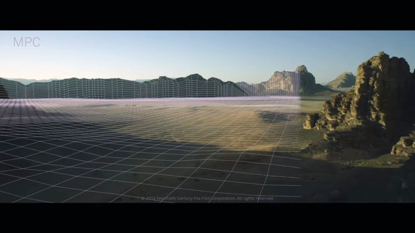 The Martian - vfx breakdown by MPC