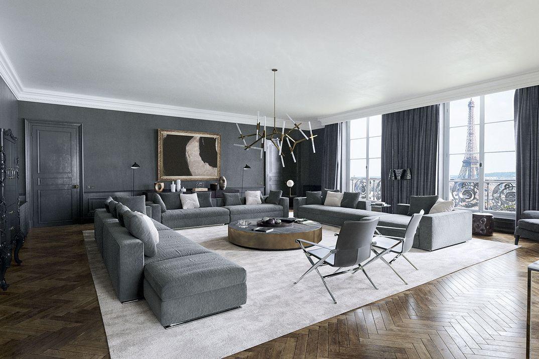 LPA - Luxury Parisian Apartment - CGI Render