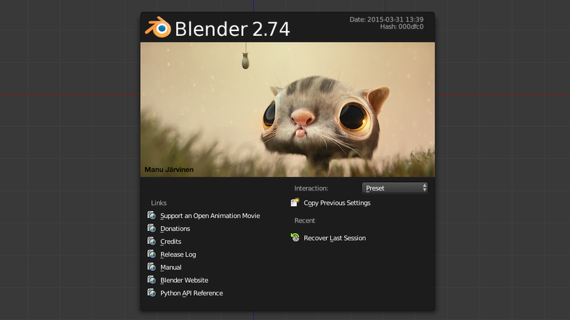 Blender 2.74: Overview delle nuove features