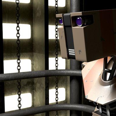 Spaceship robot