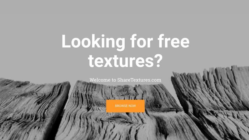Share Textures: un nuovo sito con Texture gratuite