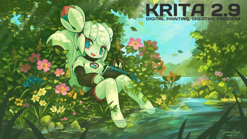 Krita 2.9 available