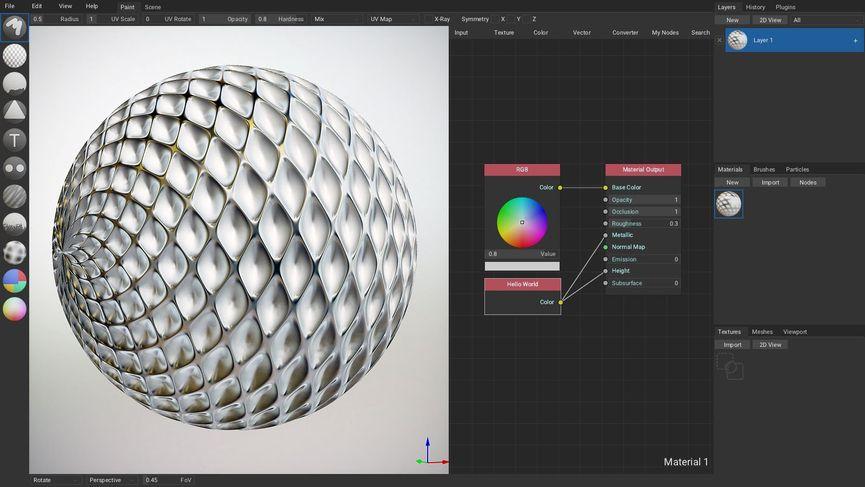 ArmorPaint 0.7: Painting 3D Open Source