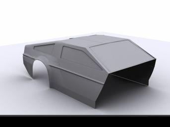 Modellazione Delorean
