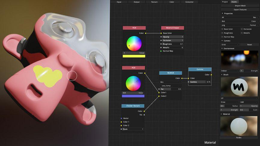 ArmorPaint: il tool per il painting delle texture a basso costo