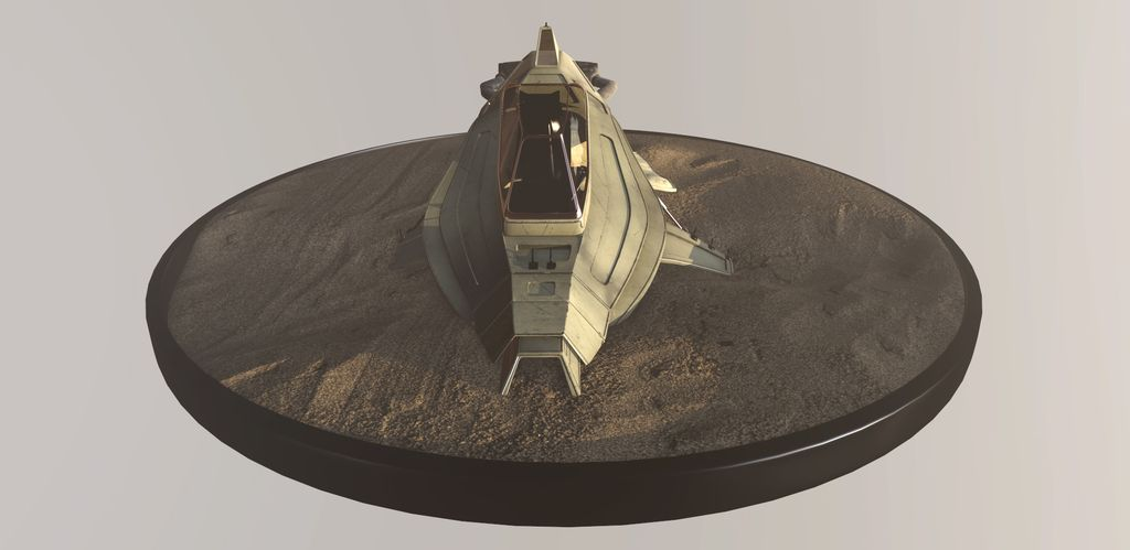 ABANDONED SPACE SHIP