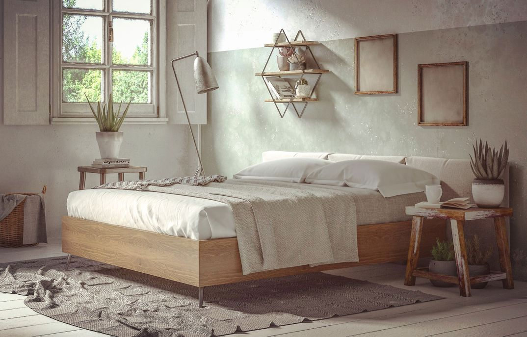 Boconcept Bedroom scene Vray Next