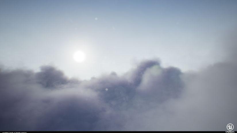 Cloud Shader volumetrico gratuito per Unreal Engine