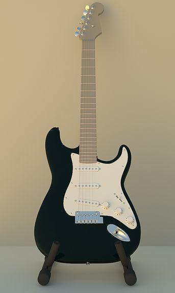 La Mia Fender Stratocaster!