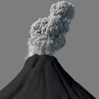 Houdini: Volcano RnD