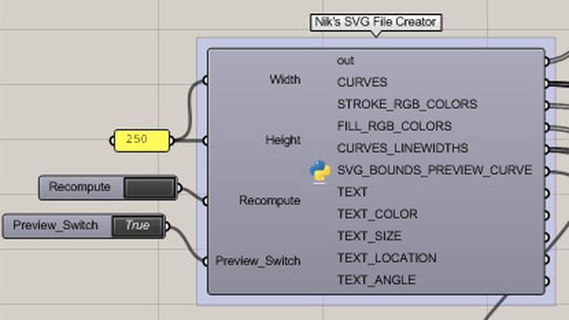 Rhino - SVG Exporter