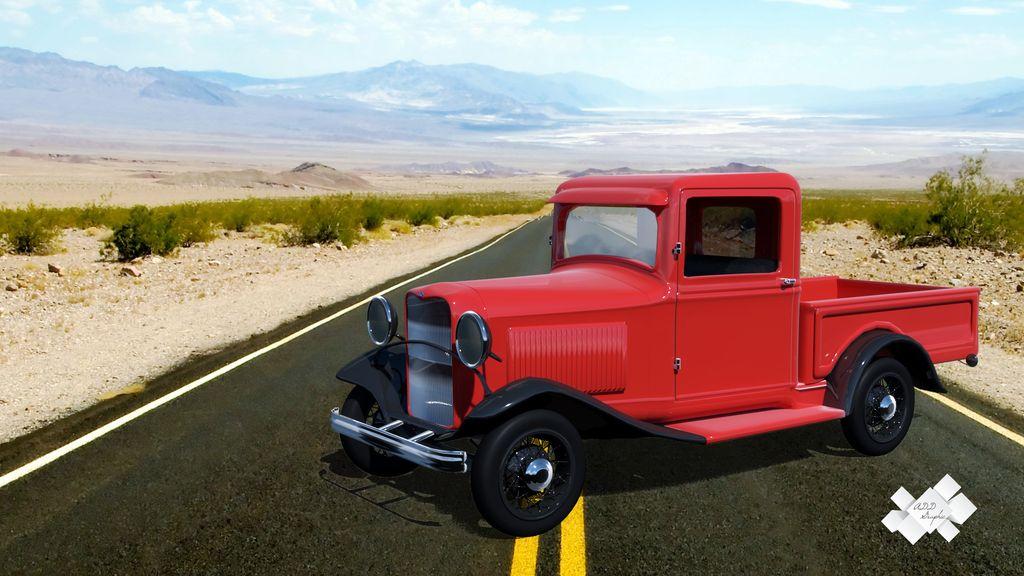 Ford Model B Pickup 1932