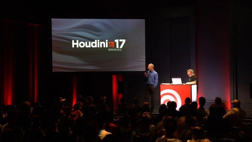 Presentazione di lancio di Houdini 17 Banshee